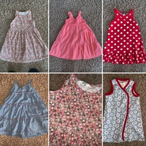 Other - Lot of girls 5, 4T summer dresses